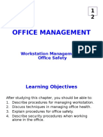 12- Workstation Mgmt & Office Safety (S)