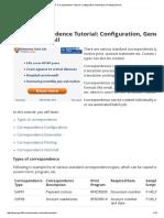 SAP Correspondence Tutorial_ Configuration, Generation, Printing & Email