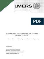 POWER SYSTEM STABILITY STUDIES