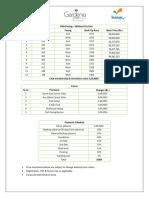 GG - Price Sheet