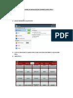 Instrucciones de Inicializacion Scanner Launch Pro 3