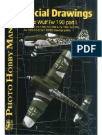 Focke Wulf FW 190 Photo Hobby Manual Special Drawings Part 1