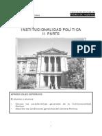 INSTITUCIONALIDAD POLÍTICA II