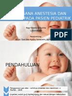 Tatalaksana Anestesi Dan Reanimasi Pada Pasien Pediatri