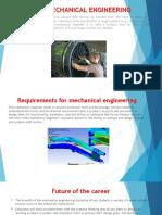 Mechanical Engineering Presentation