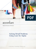 Accenture Process and Innovation Performance Solving Retail Problems Using Lean Six Sigma