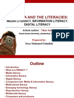 Introduction to Media and Information Literacy