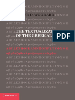 Roger D. Woodard-The Textualization of the Greek Alphabet-Cambridge University Press (2014)