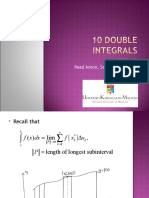 10 Double Integrals 14.1 14.2
