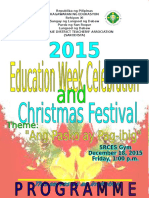 Christmas Festival Program Saro (2)