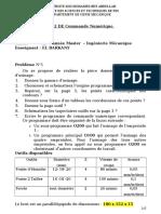TD2 Correction CFAO1