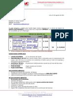 07 ALQUI-20160807 - MINERIA Y EXPORACIÓN - Alquiler de Grupos Electrogenos