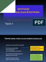 6. Motivasi Intrinsik Dan Ekstrinsik