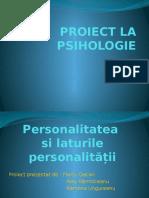 Proiect La Psihologie