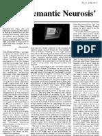 'Semantic Neurosis' Dear Nadia, Part 2, July, 2010