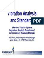 Vibrations Analysis and Standards_Larson Davis_AIHA FL 0509 Rev1C