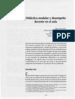 Didactica Modular y Desempeño Docente en El Aula