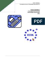 ECDL - Modulul 1