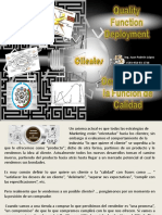 Quality Function Deployment (Despliegue de la Funcion de Calidad)