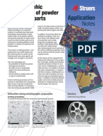 Application Notes Powder Metals English