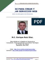 M.C. Enrique Ruiz Diaz - Guias Para Crear y Manejar Servicios Web, en lenguaje Java