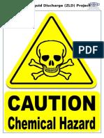 Caution - Chemical Hazard