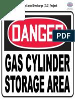 Danger - Gas Cylinder Storage Area.doc