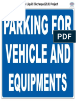 Info - Parking for Vehicle and Equipments