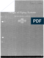 M. W. Kellogg Company-Design of Piping Systems-John Wiley & Sons, Inc. (1956)