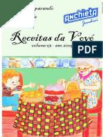 Receitas Da Vóvó 2005 - Anchieta