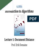 Intro to Algorithm - MIT