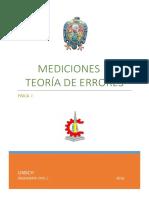 Laboratorio de Física - Mediciones y Teoría de Errores.
