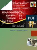 asepsia cirugía