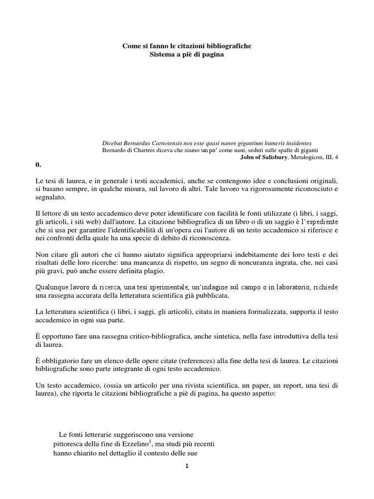 Citazioni Bibliografiche Trento Pdf
