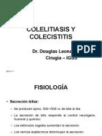 Colelitiasis y Colecistitis