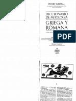 Grimal, Pierre - Diccionario de Mitología Griega y Romana