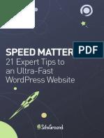 Optimize WordPress Speed eBook
