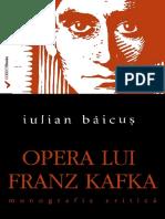 (Preview) 978-606-599-891-9 Opera Lui Franz Kafka
