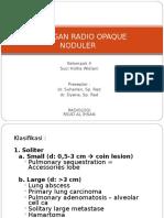 CSS  Radio Opaque Nodular (Suci)