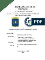 Informe de Leptospira 2.0