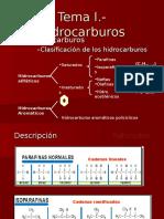 Tema I.- Hidrocarburos