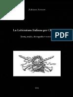 La letteratura italiana per clarinetto
