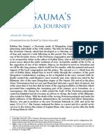Bar Sauma's Black Sea Journey