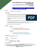 5° CONFERENCIA DE JOVENES