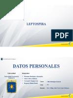 Microsoft Powerpoint - Leptospira-exposición