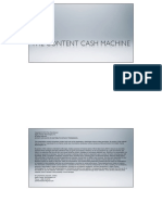 Product Development The Cash Machine