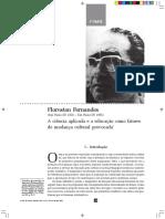 FERNANDES, Florestan - A ciência aplicada e a educação como fatores de mudança social provocada.pdf
