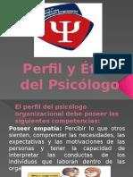 Perfil y Etica Del Psicologo