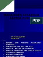 Manajemen Strategi Sektor Publik