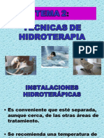 Técnicas de Hidroterapia